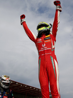 Race winner Mick Schumacher, PREMA Theodore Racing Dallara F317 - Mercedes-Benz