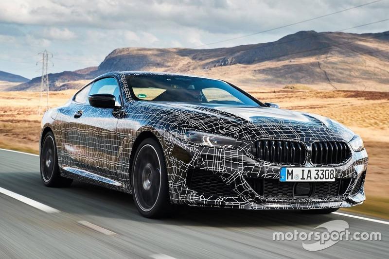 BMW M850i xDrive Coupe 2018 prototype