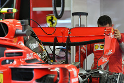 Ferrari SF71H rear wing