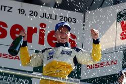 Podium: race 2 winnaar Heikki Kovalainen, Gabord Competition