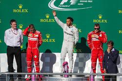 James Allison, Mercedes, ganador, Lewis Hamilton, Mercedes AMG F1, Sebastian Vettel, Kimi Raikkonen, Ferrari celebran