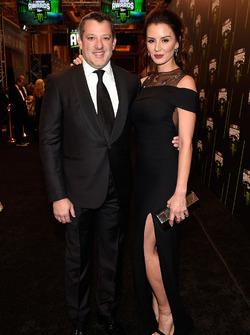 Tony Stewart ve nişanlısı Pennelope Jimenez