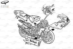 Loris Capirossi Honda NSR500