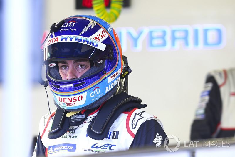 Fernando Alonso: #8 Toyota Gazoo Racing Toyota TS050