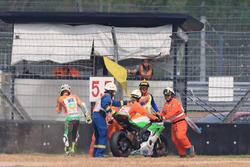 Jules Cluzel, NRT after crash
