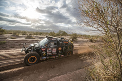 #347 Dakar Jefferies Buggy, Tim Coronel, Tom Coronel