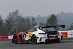 #89 AKKA ASP, Mercedes-AMG GT3: Laurent Cazenave, Daniele Perfetti, Michael Lyons