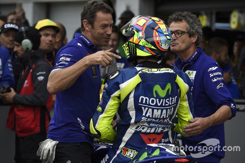 Secondo qualificato Valentino Rossi, Yamaha Factory Racing