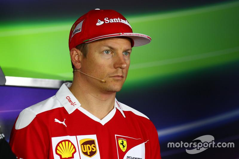 Kimi Raikkonen, Ferrari, FIA Basın Toplantısı