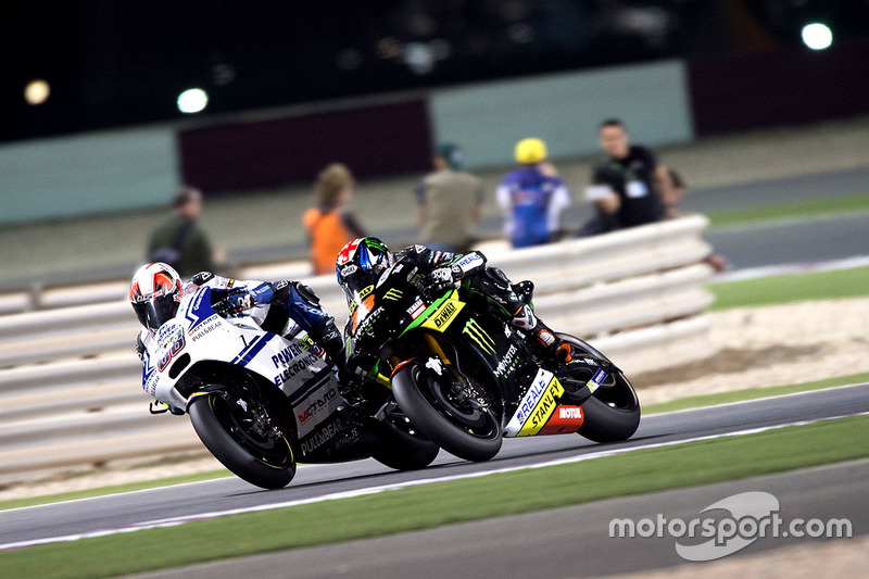 Yonny Hernandez, Aspar MotoGP Team, Ducati et Bradley Smith, Monster Yamaha Tech 3, Yamaha