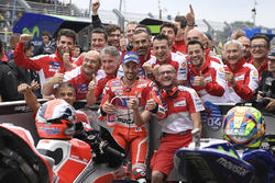 Pole Position für Andrea Dovizioso, Ducati Team