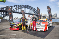 Chaz Mostert, Craig Lowndes and James Courtney
