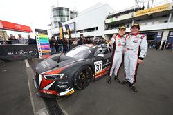 Pemenang lomba #33 Belgian Audi Club Team WRT Audi R8 LMS GT3: Enzo Ide, Christopher Mies