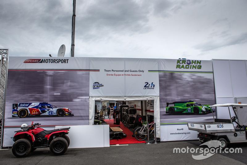 Зона Greaves Motorsport та Krohn Racing