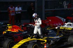 Sergey Sirotkin, Williams Racing, en Parc Ferme