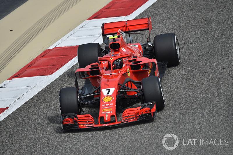 1. Kimi Räikkönen, Ferrari SF71H