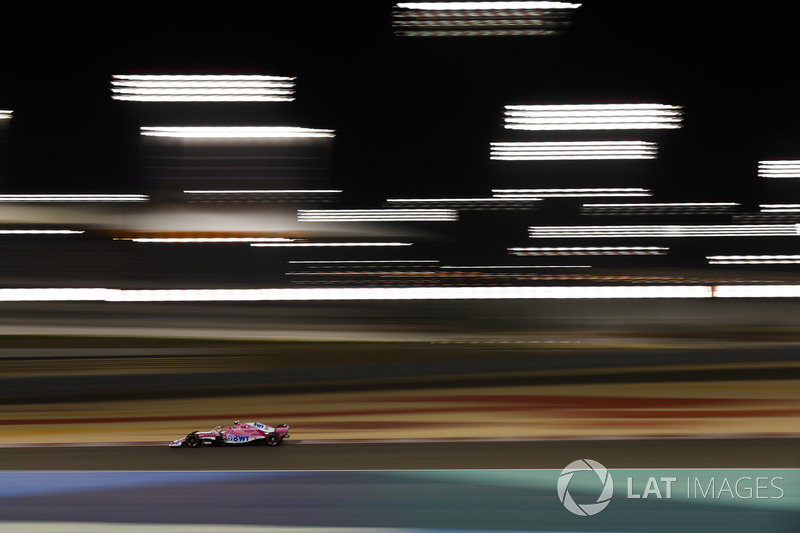 12: Sergio Perez, Force India VJM11 Mercedes, 1'30.156