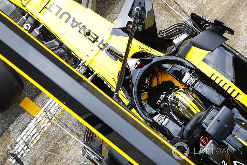 Система Halo на Renault RS18