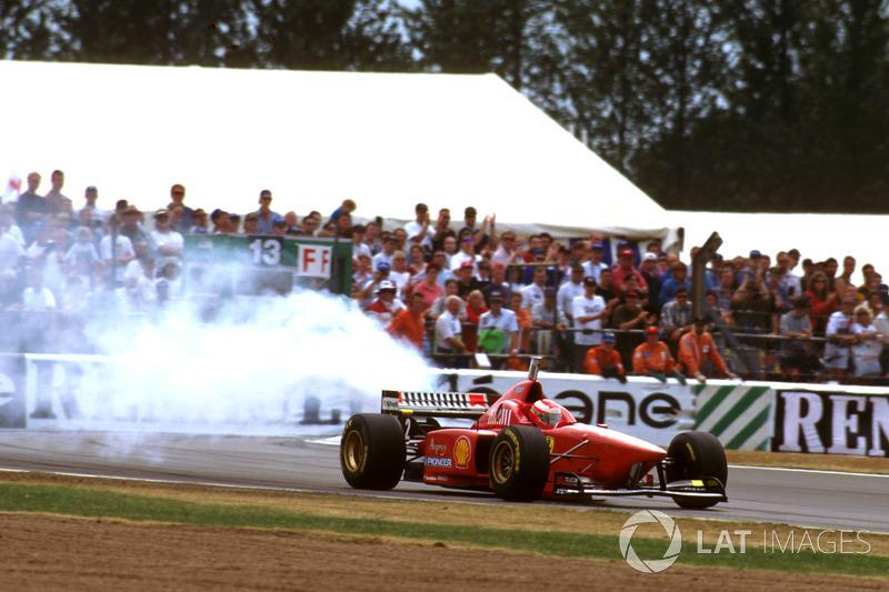 1996 – Едді Ірвайн, Ferrari