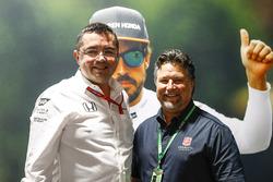 Eric Boullier, McLaren, Michael Andretti