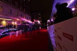 Los invitados llegan a la alfombra roja