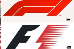 Comparación entre el nuevo logo de la F1 y el viejo