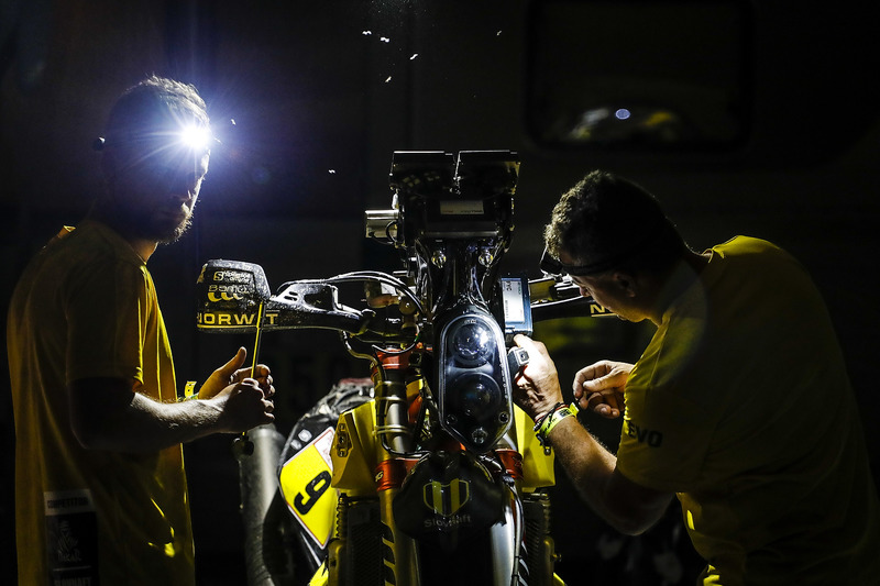Механіки Slovnaft Rally Team