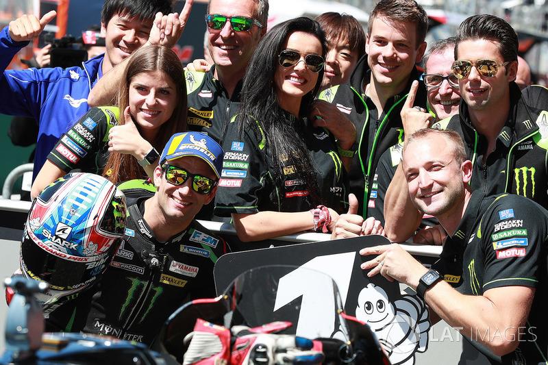 Polesitter Johann Zarco, Monster Yamaha Tech 3
