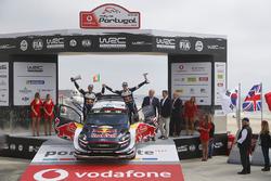 Third place Teemu Suninen, Mikko Markkula, Ford Fiesta WRC, M-Sport Ford