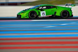 #19 GRT Grasser Racing Team, Lamborghini Huracan GT3: Mirko Bortolotti, Christian Engelhart, Andrea Caldarelli