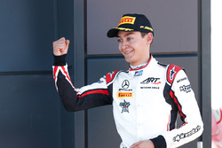 Podium: second place George Russell, ART Grand Prix
