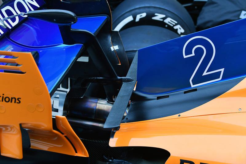McLaren MCL33, hátsó részlet