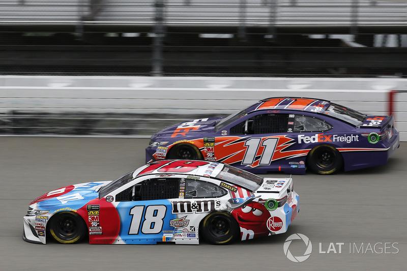Denny Hamlin, Joe Gibbs Racing, Toyota Camry FedEx Freight Kyle Busch, Joe Gibbs Racing, Toyota