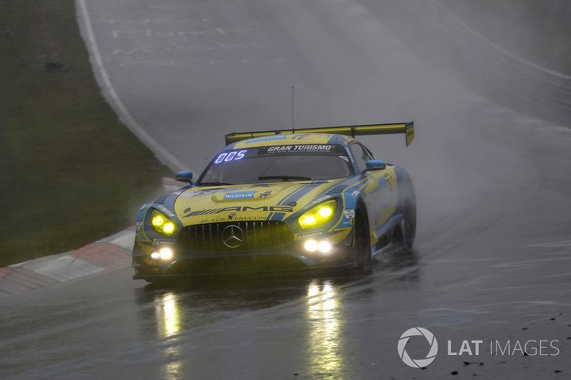 Йелмен Бурман, Томас Ягер, Ян Сейффарт, Лука Штольц, Mercedes-AMG Team Black Falcon, Mercedes-AMG GT3 (№5)