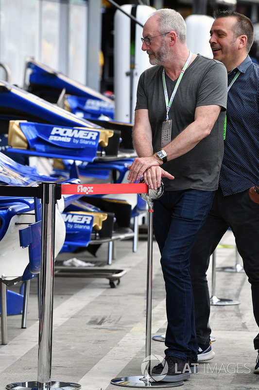 Liam Cunningham, Actor and Stefano Zuech, Motorsport Consultant