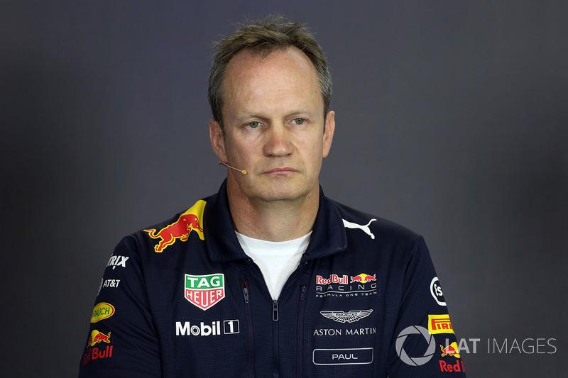 Paul Monaghan, Red Bull Racing RB13 Ingeniero