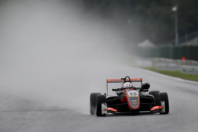 Джоі Мосон, Van Amersfoort Racing, Dallara F317 - Mercedes-Benz