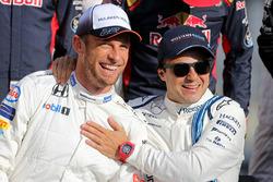 Дженсон Баттон, McLaren, и Фелипе Масса, Williams F1