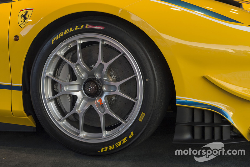 El Ferrari 488 Challenge