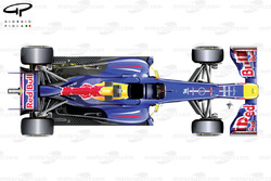 Red Bull RB9 top view