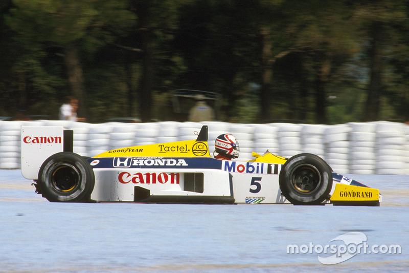 #7: Nigel Mansell (32 Pole-Positions)