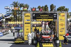 Les vainqueurs, Kris Meeke et Paul Nagle, Citroën C3 WRC, Citroën World Rally Team