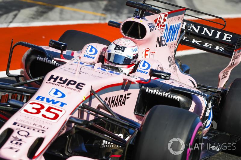 Lucas Auer, Sahara Force India F1 VJM1