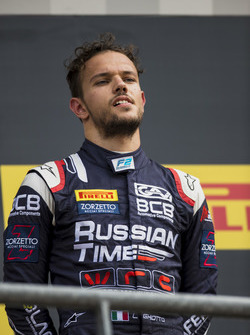 Tercer lugar Luca Ghiotto, RUSSIAN TIME