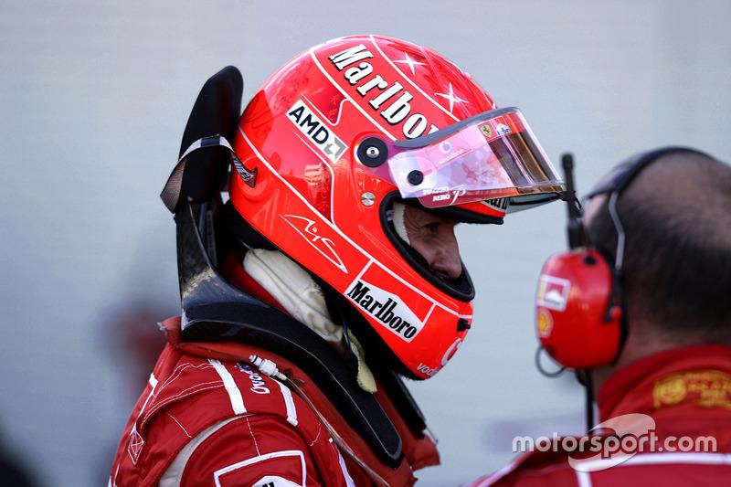 فورمولا 1 جميع خوذ مايكل شوماخر خلال مسيرته