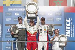 Podium: Ganador, Esteban Guerrieri, Campos Racing, Chevrolet RML Cruze TC1, segundo, Thed Björk, Pol