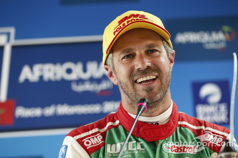 Tiago Monteiro, Honda Racing Team JAS, Honda Civic WTCC at the Press Conference