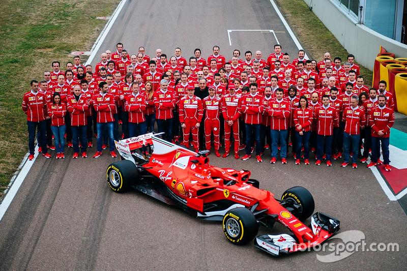 8. Ferrari SF70H
