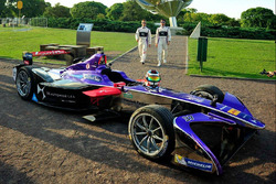 Sam Bird, DS Virgin Racing; Jose Maria Lopez, DS Virgin Racing