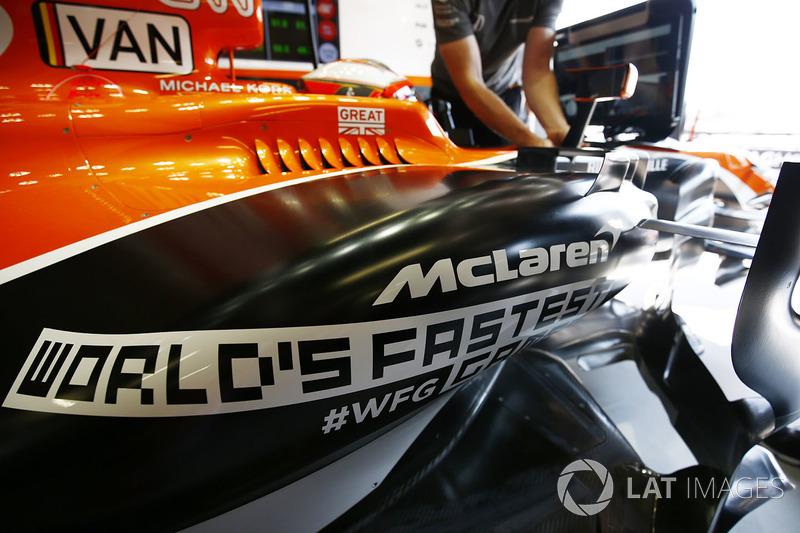 2018: McLaren